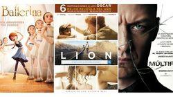 Estrenos de la semana: por qué ver 'Múltiple' 'Lion' y