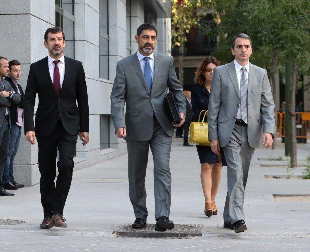 La Fiscalía pide prisión sin fianza para Trapero por su inacción el