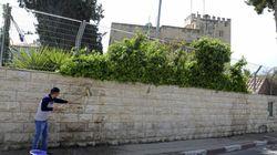 Acto vandálico contra el Consulado de España en