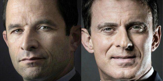 El tenso 'cara a cara' entre Valls y Hamon por ser el candidato socialista en