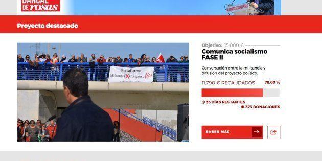 Pedro Sánchez cerrará su 'crowdfunding' aunque gastará lo recaudado hasta