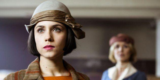 Aura Garrido como Amelia Folch en un fotograma de 'El Ministerio del