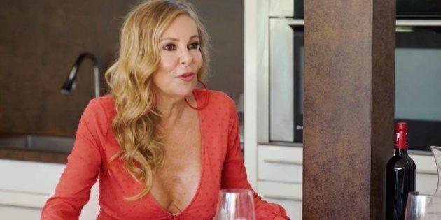 Ana Obregón confiesa la que lió en una barbacoa de la selección de