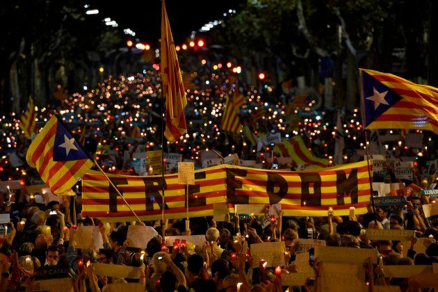 VÍDEOS: Así ha sido la concentración en Barcelona, desde