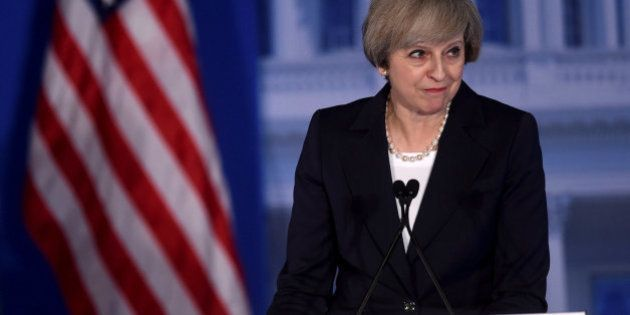 La Casa Blanca convierte por error a Theresa May en una actriz