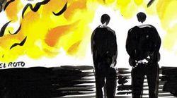 La viñeta de 'El Roto' tras los incendios de Galicia que da mucho que
