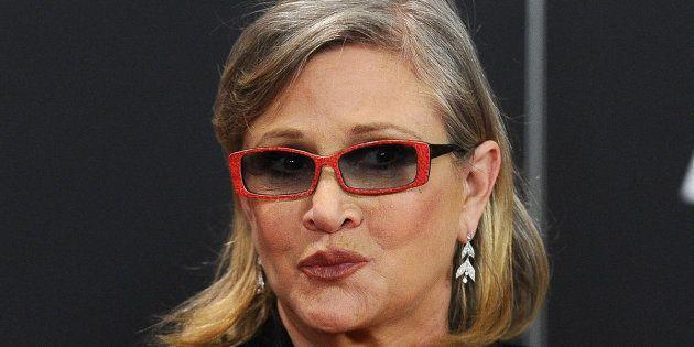 Carrie Fisher envió una lengua de vaca a un productor que acosó sexualmente a una