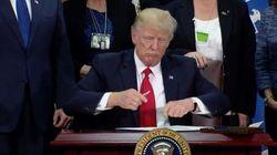Esta imagen de Trump está dando mucho juego en