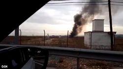 Fallece el piloto de un avión militar al estrellarse en Torrejón de Ardoz