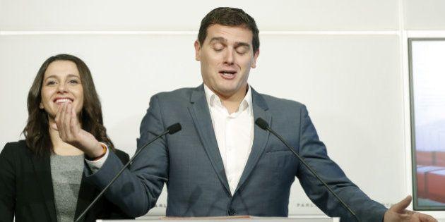 Rivera reelegido presidente de Ciudadanos en primarias, con el 87,27% de los