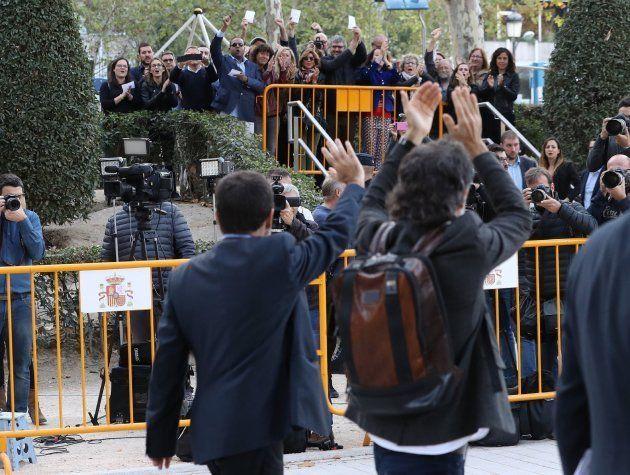 Los 'Jordis', de las masivas protestas en la calle a Soto del