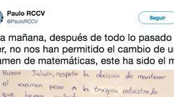 Un alumno gallego triunfa en Twitter con su respuesta en un examen tras los