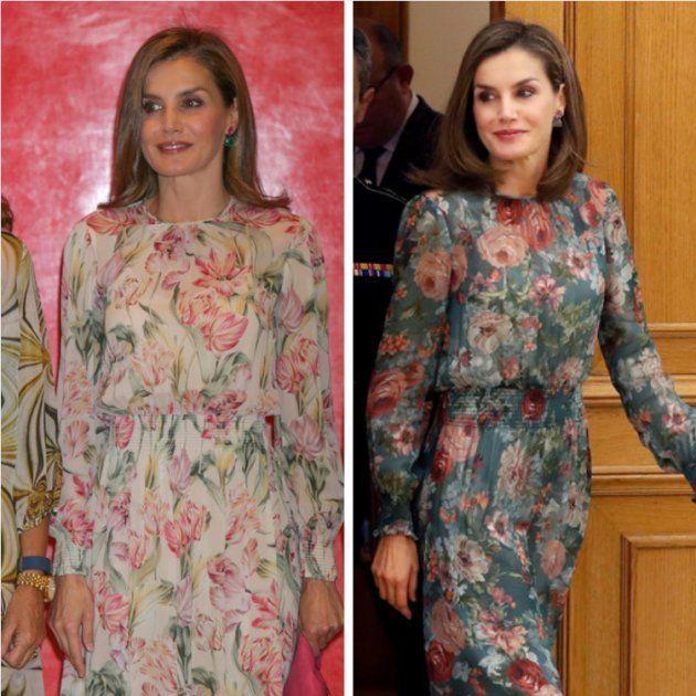 La reina Letizia de otoño clona a la reina Letizia de