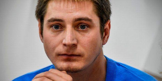 El ruso Maxim Lapunov ofrece una rueda de prensa en