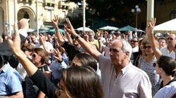 Los malteses se echan a las calles contra la corrupción tras el asesinato de una