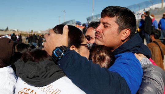 Abrazos sí, muros no: el grito en la frontera