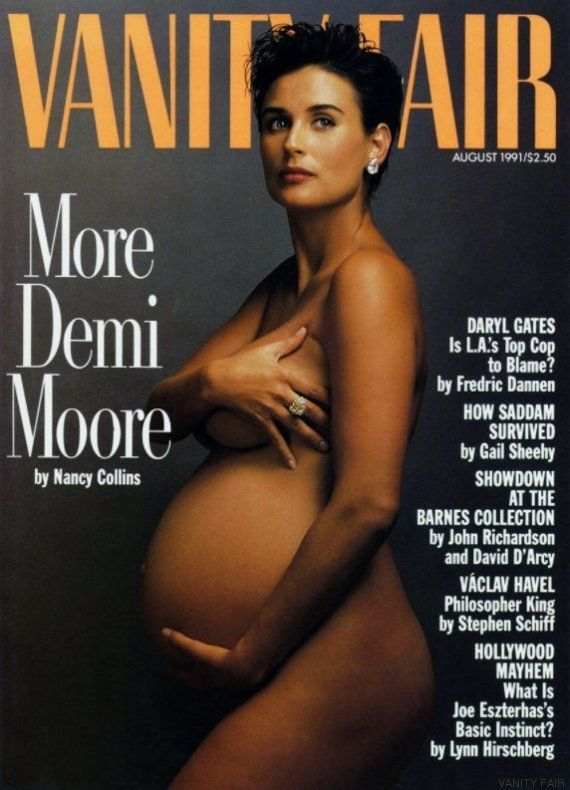 Natalie Portman posa embarazada y sin ropa para Annie Leibovitz en 'Vannity