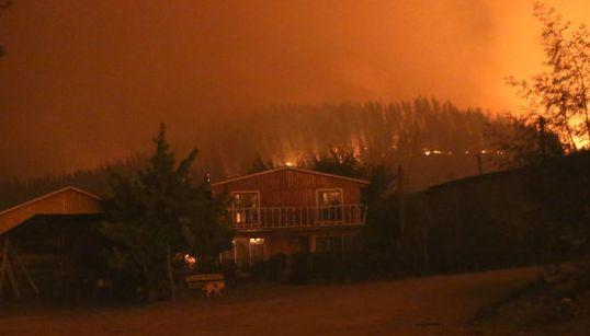 Las dolorosas imágenes que dejan los incendios de