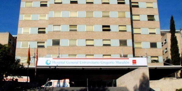 Se desprende el falso techo en Oncología del Hospital Gregorio Marañón de