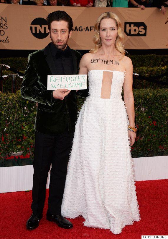 Simon Helberg, de 'The Big Bang Theory', a favor de los refugiados en los premios