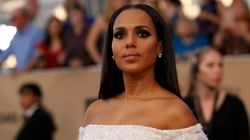 Por qué Kerry Washington llevó un imperdible a los