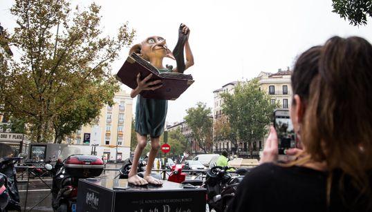 El aperitivo de la gran exposición de Harry Potter en Madrid también es