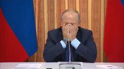 Putin estalla de risa después de que su ministro de Agricultura sugiriera exportar cerdo a Indonesia, un país