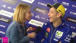 La pregunta de una periodista de Canal Sur que dejó a Rossi con esta