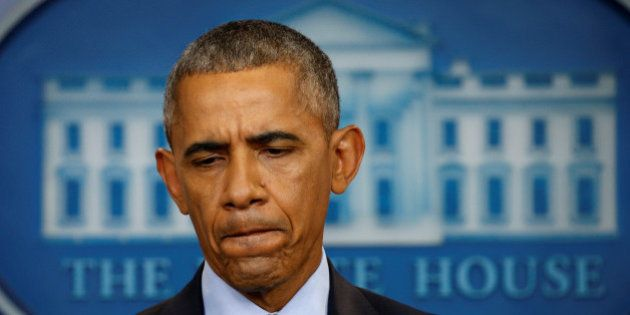 U.S. President Barack Obama holds his final news conference at the White House in Washington, U.S., January...