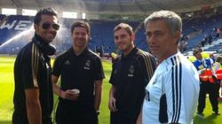 Casillas responde a esta foto de Arbeloa: