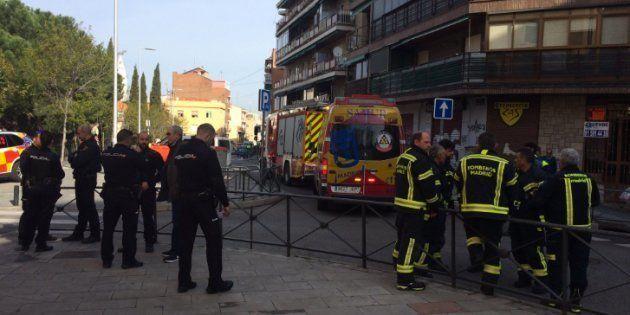 Una alumna, herida grave en Madrid tras un experimento de