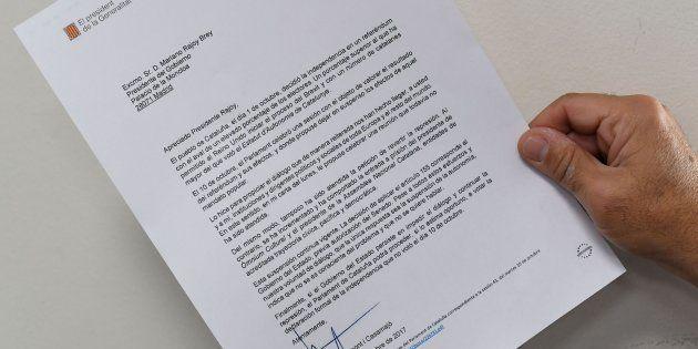 El Gobierno aplicará el 155 tras amenazar Puigdemont con aprobar en el Parlament la