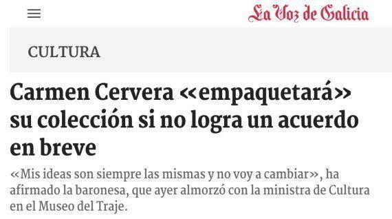Carmen Cervera y sus cuadros del Thyssen: por qué amenaza con llevarse las