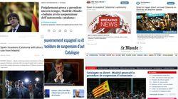 Así ha visto la prensa internacional la carta de Puigdemont y la reacción del
