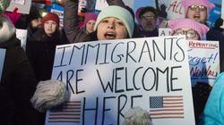 Tercer día de protestas contra el veto migratorio de Donald
