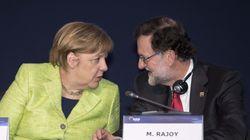 Merkel defiende el principio de integridad territorial de los estados de la