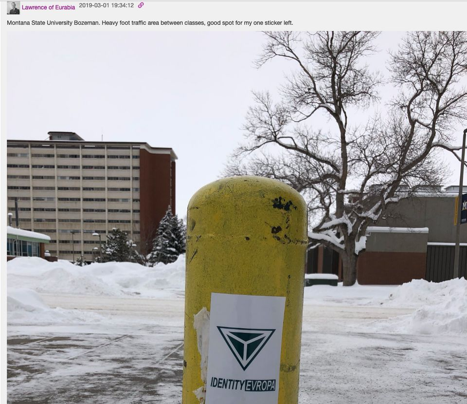 Lawrence of Eurabia posted this photo in the Identity Evropa chat
