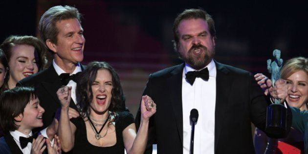 Las caras de Winona Ryder en los premios SAG tienen una