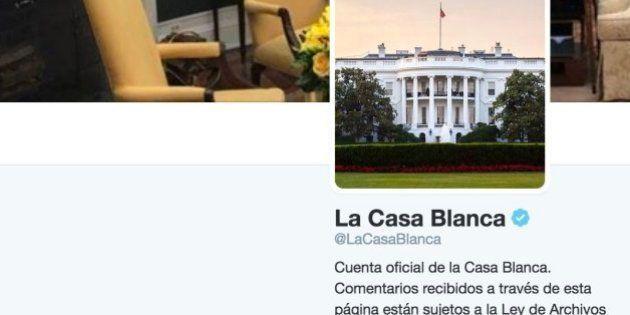 La Casa Blanca emite su primer mensaje en castellano en su cuenta de
