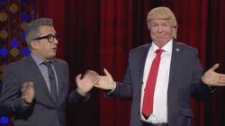El falso Trump visita 'Late Motiv':