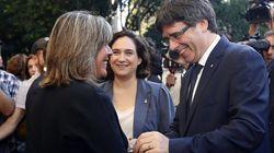 La alcaldesa de Hospitalet estalla contra Rajoy y Puigdemont: