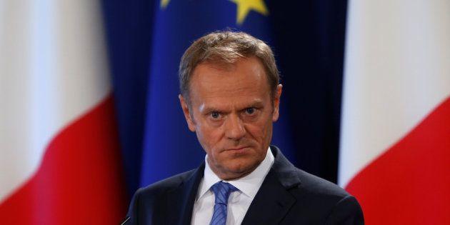 El presidente del Consejo Europeo, Donald Tusk, este
