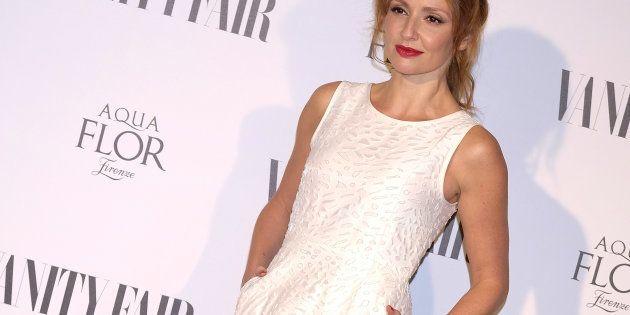 Cristina Castaño, en la fiesta de la revista 'Vanity Fair' el 21 de septiembre de