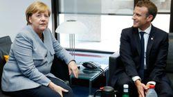 Merkel y Macron ratifican su apoyo a gobierno español en crisis