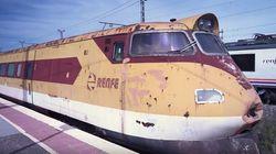 'El Platanito', el tren que es Patrimonio Histórico y se pudre en una estación de