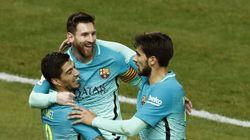 Así han sido los dos golazos del Barça en el Vicente