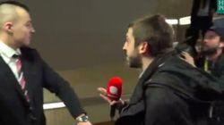 Los guardaespaldas de Marine Le Pen pegan a un periodista por una pregunta