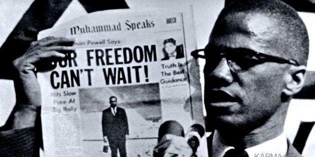 Malcolm X (1925-1965), uno de los grandes defensores de los derechos de los