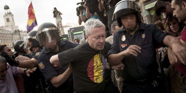 Jorge Verstrynge es absuelto de haber agredido a un policía durante la proclamación del