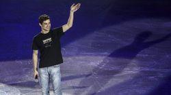 Nadie esperaba al pentacampeón de Europa de patinaje Javier Fernández en